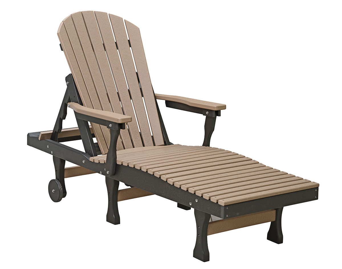 Poly Lumber Comfo-Back Chaise Lounge