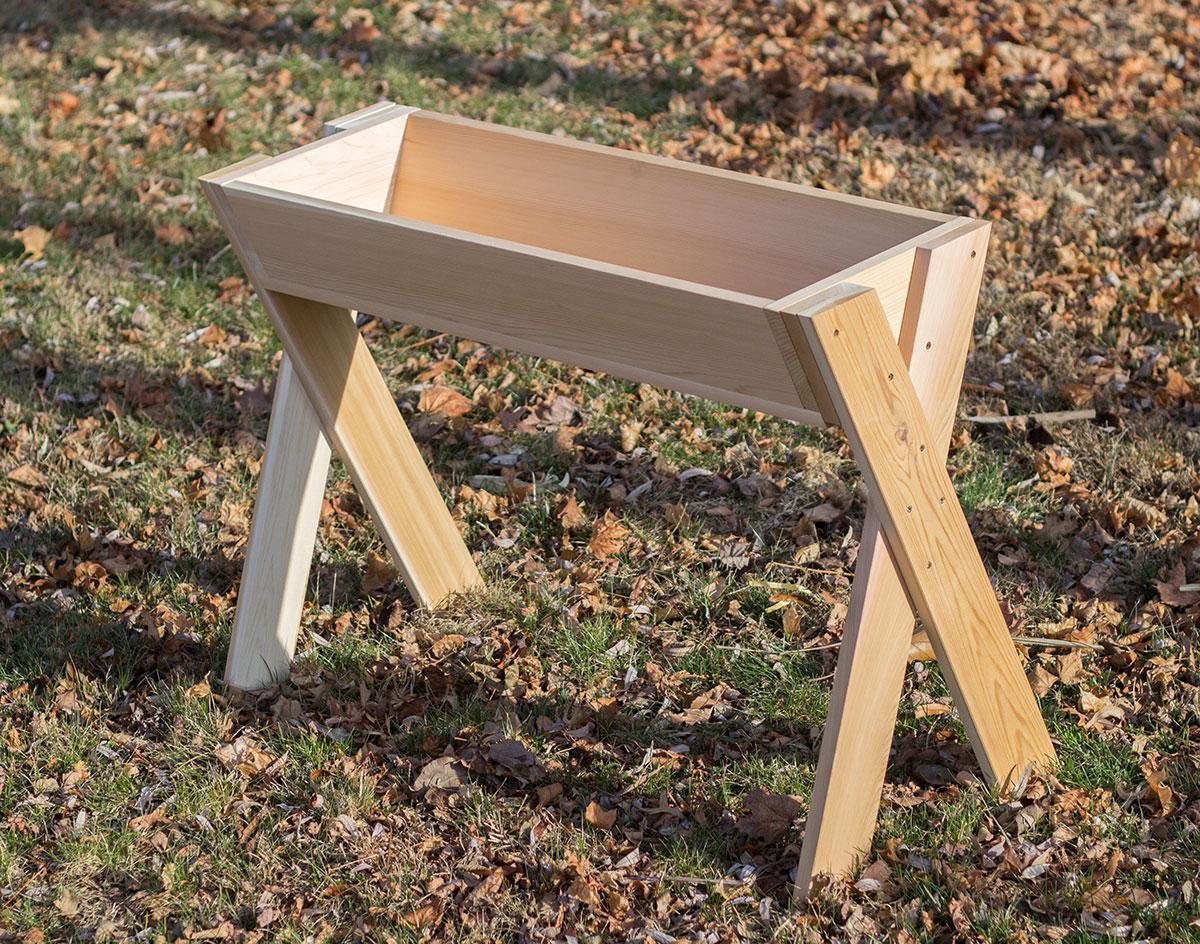 deer trough feeders images reverse search. Black Bedroom Furniture Sets. Home Design Ideas
