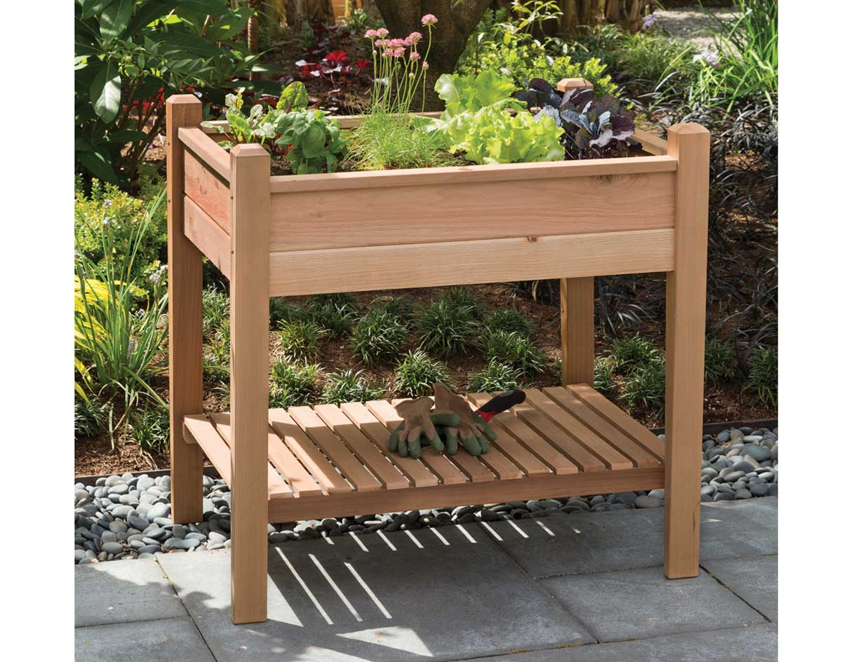 id cedar box diy planter