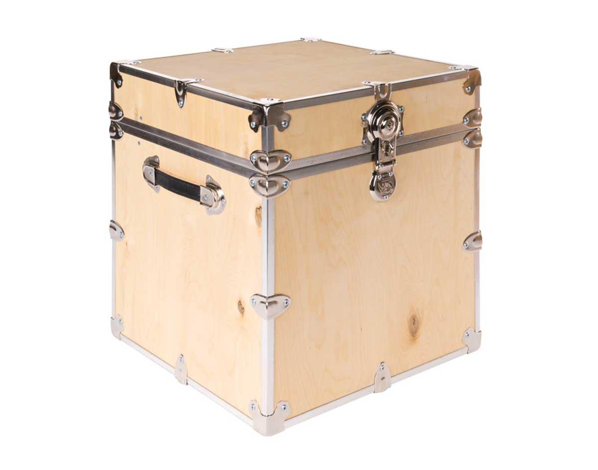 Birchwood storage trunk - Footlockers storage ...