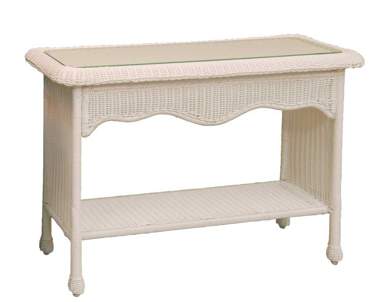 Wicker Sands Console Table