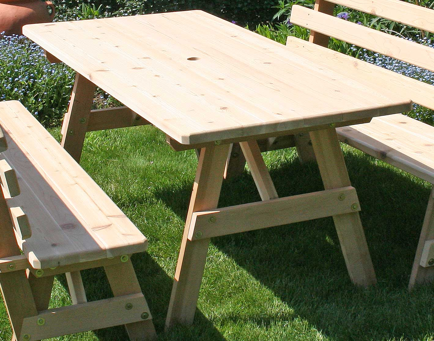 c2085f2b26a7 Red Cedar Picnic Table