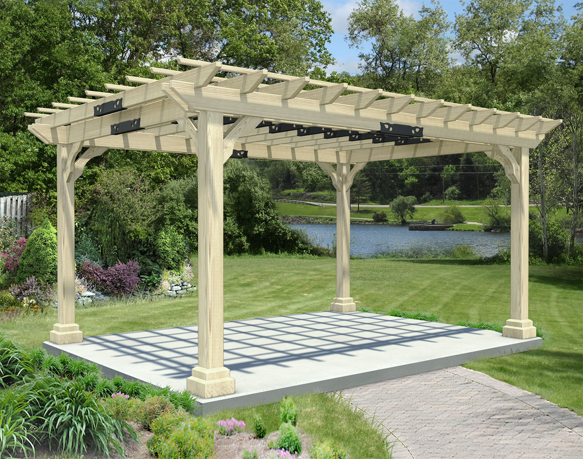 treated pine garden pergola. Black Bedroom Furniture Sets. Home Design Ideas