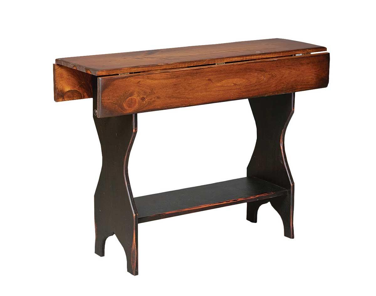 Vintage drop leaf sofa table for Sofa table vintage