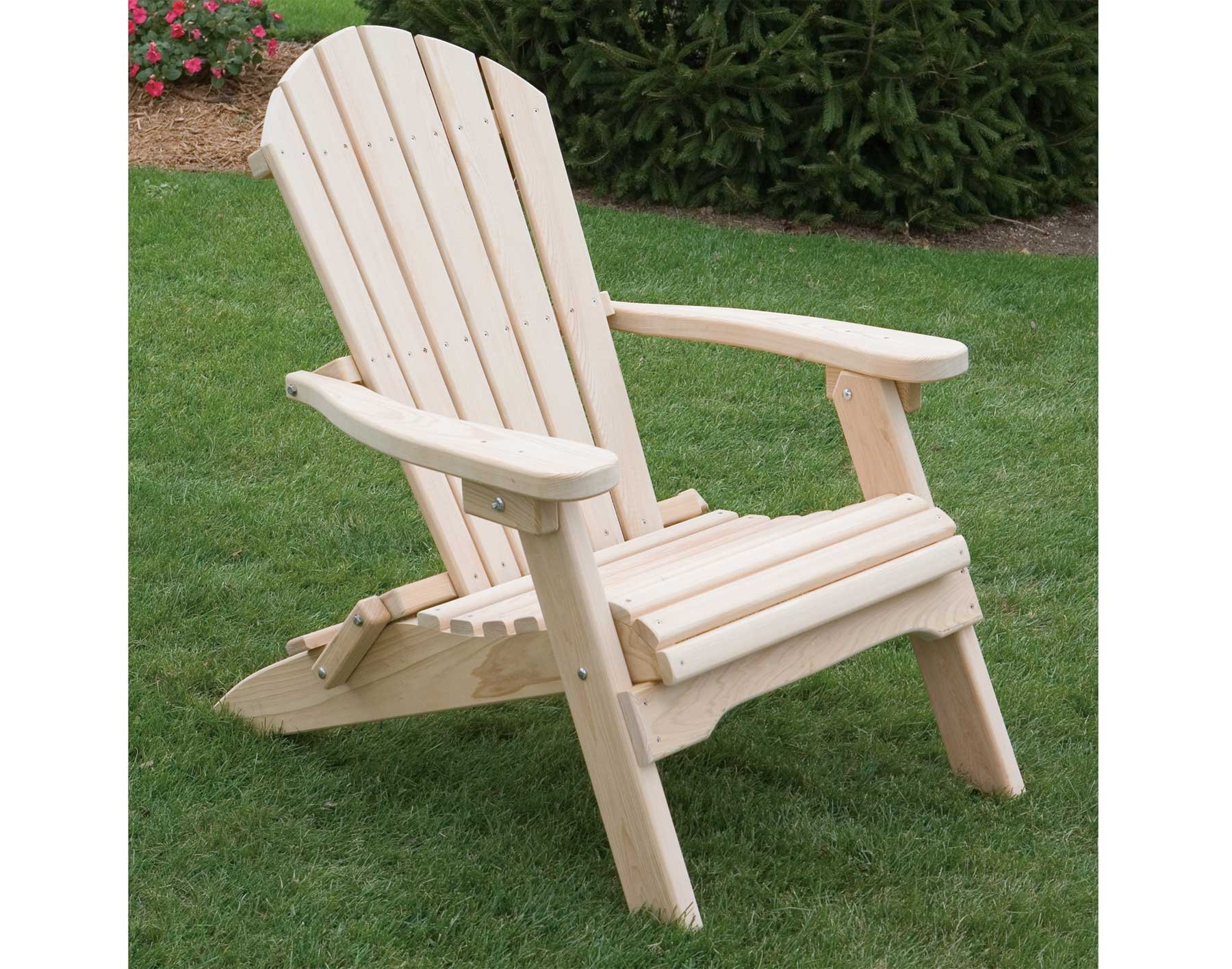 Cypress Folding Adirondack Chair