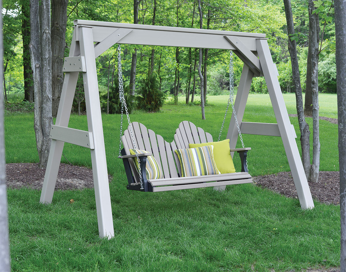 Vinyl A Frame Swing Stand